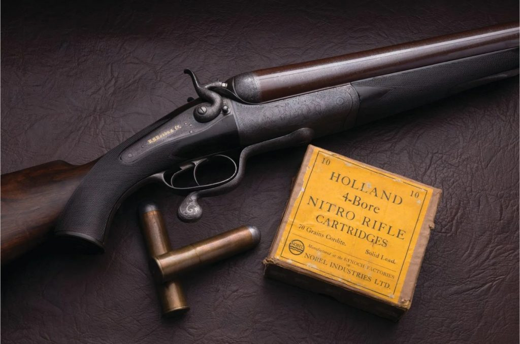 Rodda and Co. 4 Bore Double Rifle 3